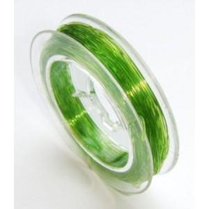Guta elestica .5 mm culoare verde (1 m)