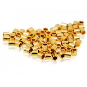 Crimpuri tubulare aurii nr.2 (50 b)