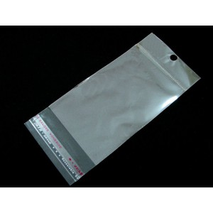 10 Pungulite transparente cu adeziv 90 x 40 mm