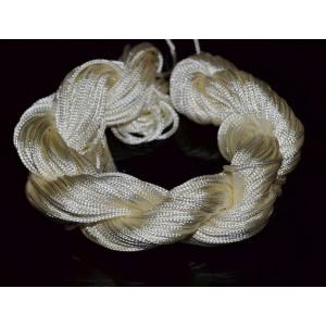 28 metri Snur (ata) nylon culoare ivoire - Shamballa