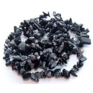 Cipsuri Obsidian - 45 cm + inchizatoare lobster