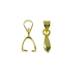 Agatatoare placata cu aur 15 mm