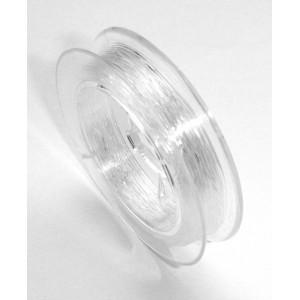 Guta elastica 0.6 mm transparenta
