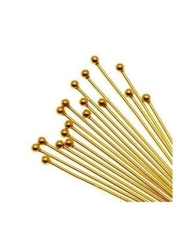 Ace cu bila placate cu aur 30 x 0.5 mm