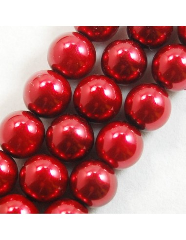 10 Perle sferice ivoire 10 mm