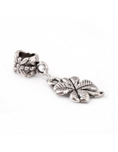 Pandantiv PANDORA trifoi argintiu 15 mm