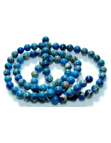 Sfere Jasp Imperial (Regalit) albastru 4.8 mm