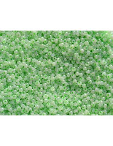 Margele de nisip vernil deschis 2mm (10g)