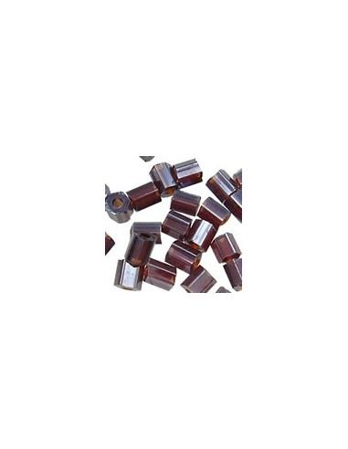 Margele de nisip tubulare grena 2 x 1.8 mm (10g)
