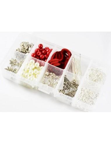 Kit pentru confectionare bijuterii handmade - 100 componente
