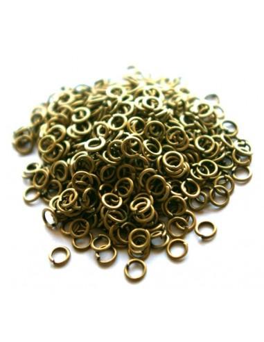 30 Zale deschise bronz 4 mm