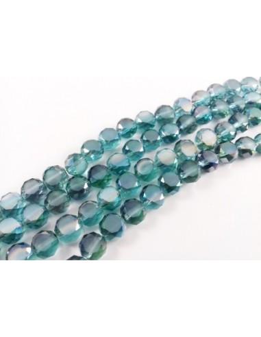 Banut cristal fatetat indicolite 8 x 5 mm