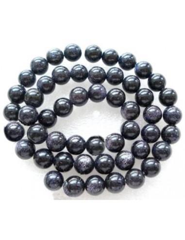 Blue Goldstone sferice 8 mm