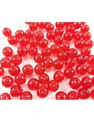 Margele sferice cristal sticla 8 mm
