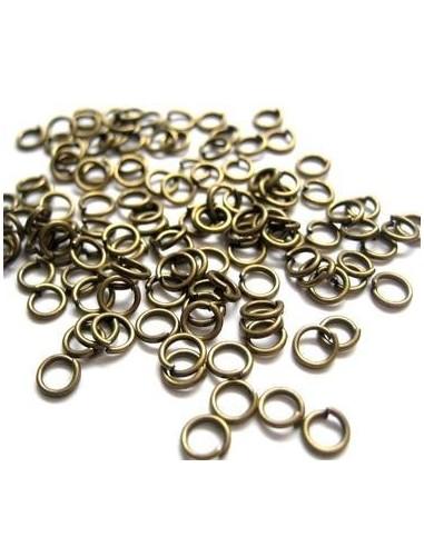 30 Zale deschise bronz 5 mm