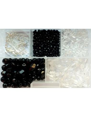 Kit margele Cehia si accesorii bijuterii cu 150 componente