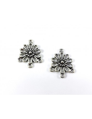 Chandelier argintiu floare 23 mm