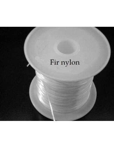 Fir nylon (guta neelastica) transparenta 0.6 mm (80 m)