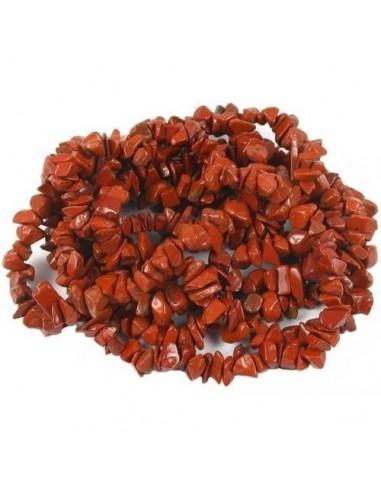 Jasp Rosu 50 cm + inchizatoare lobster