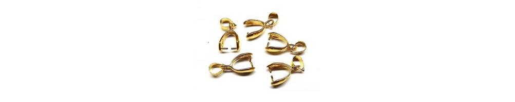 Agățători pandantiv aurii sau placate cu aur