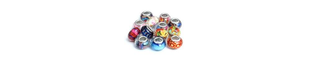 charmuri, margele, PANDORA, microfatetate, accesoriiBijuterii, rasina, colorate