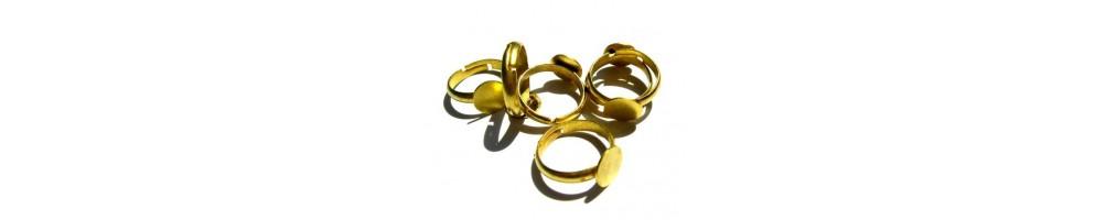 Baza inel, brosa, colier, bratari aurii sau placate cu aur