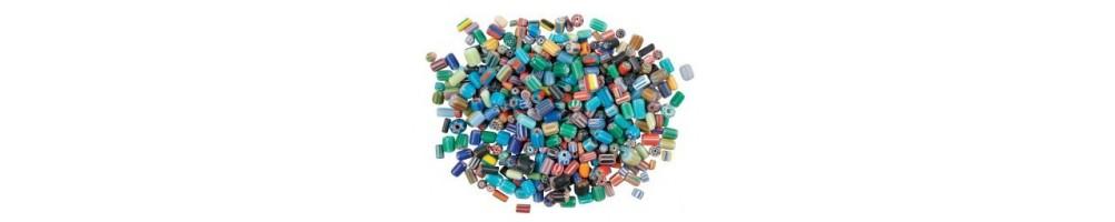 Accesorii metalice, accesorii lemn, margele, rasina, plastic, sticla, margele de nisip, paiete, fimo