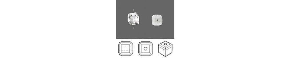 Margele, cristal, cubice