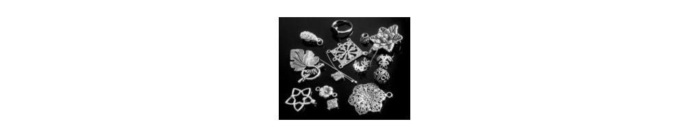 Accesorii argintii pentru confectionare bijuterii handmade