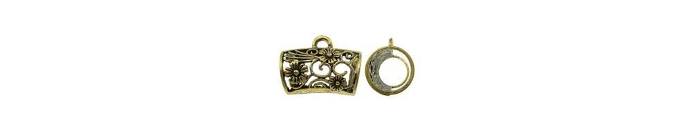 agatatoare pandantiv, tubulara, argintiu antichizat, filigran, accesorii Bijuterii