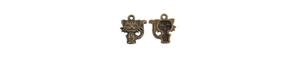 charm, pandantiv, bronz, accesorii bijuterii
