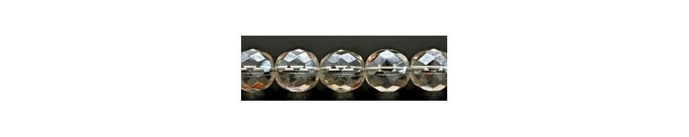 Margele sticla Cehia, rotunde, Jablonex - Accesoriibijuterii.com