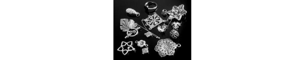 Accesorii metalice - argintii, aurii, bronz, cupru, inox pentru bijuterii handmade