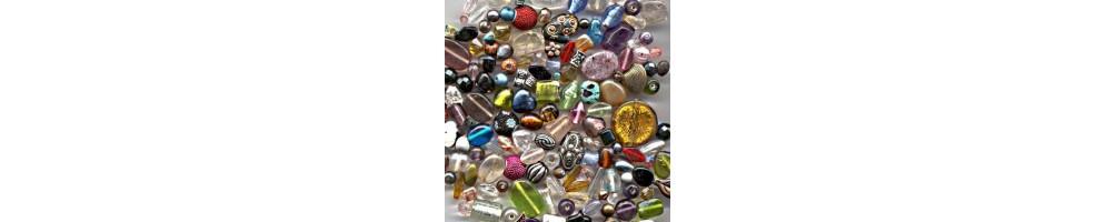 Margele de sticla, cristale, lemn, rasina, metalice, margele de nisip - AccesoriiBijuterii.com